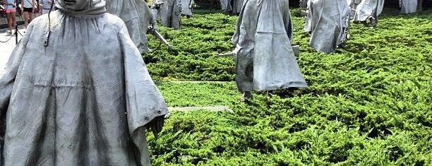 Korean War Veterans Memorial is one of December in DC.