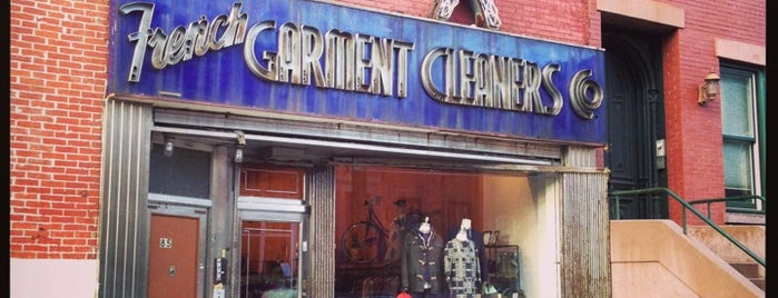 French Garment Cleaners Co. is one of Brooklyn.