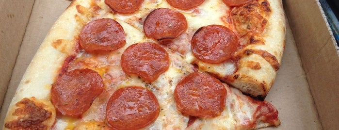 A Slice of New York is one of Columbus Pizza.