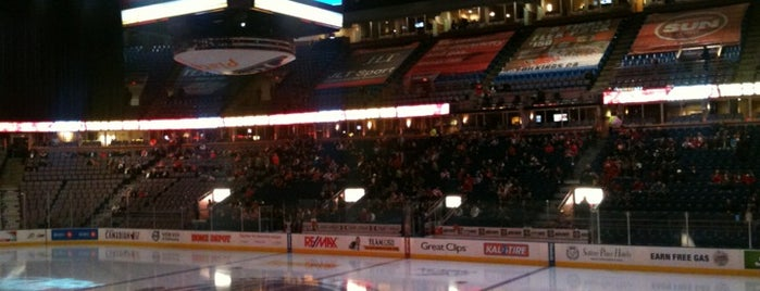 Rexall Place is one of NHL arenas.