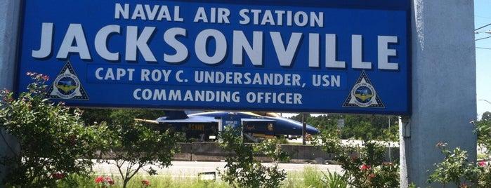 Blue Angel at NAS Jax is one of JAX , FL.