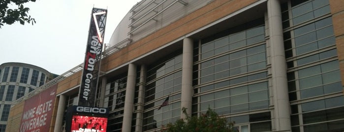 Capital One Arena is one of NHL arenas.