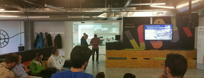 Wayra is one of Madrid4Geeks.