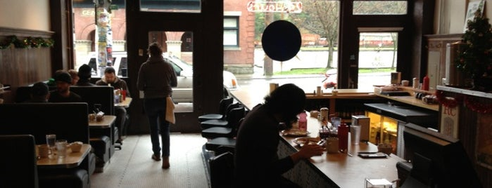 Square Knot Diner is one of Georgetown Seattle Dining.
