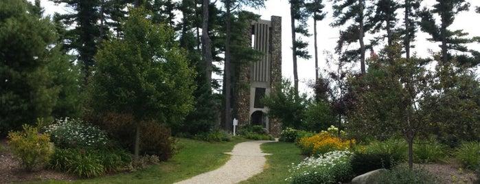Cathedral of the Pines is one of CT Daytrips.