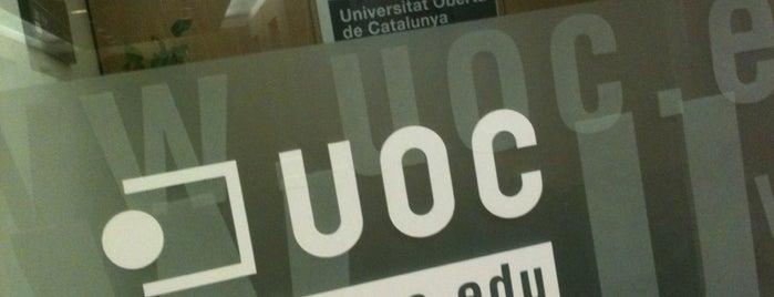 UOC (Universitat Oberta de Catalunya) is one of Seus UOC / Sedes UOC.