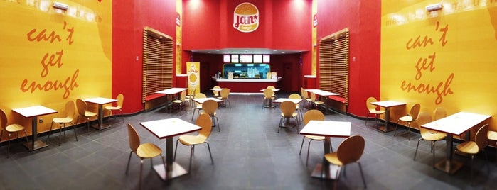 Jan Burger is one of Must visit Place and Food in Saudi Arabia.