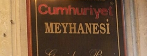 Tarihi Cumhuriyet Meyhanesi is one of Restaurants, Cafes, Lounges and Bistros.