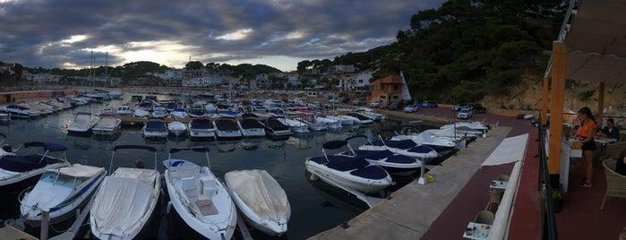 Port de Llafranc is one of Costa Brava - España.