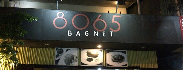 8065 Bagnet is one of Great places for everything.
