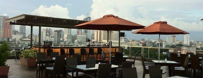 Skydeck Lounge at The Bayleaf Hotel is one of Manila.