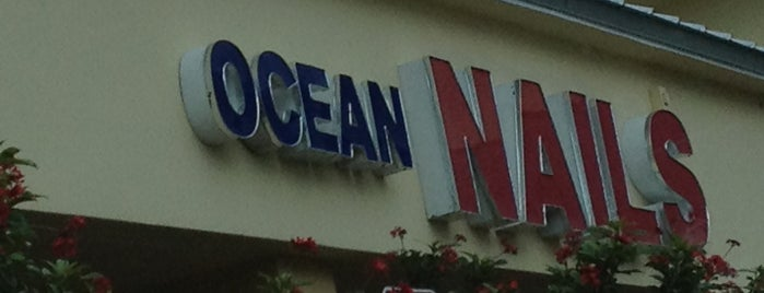 Ocean Nails is one of Places to try.