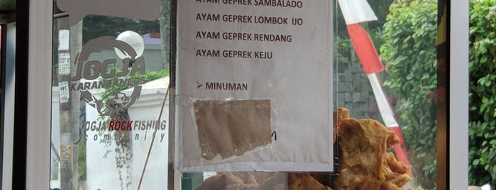 Ayam Geprek Bu Rum is one of Culinary @ Jogja.