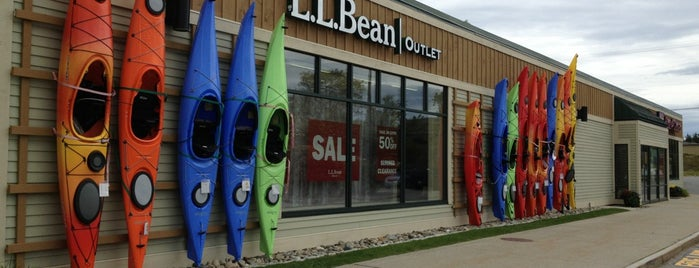L.L. Bean Factory Store is one of Maine!.