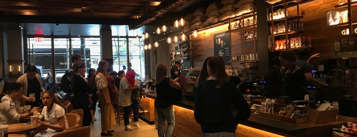 Starbucks Reserve is one of NYC Manhattan East 65th St+.