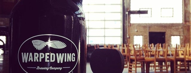 Warped Wing Brewing Co. is one of Beer/Wine.