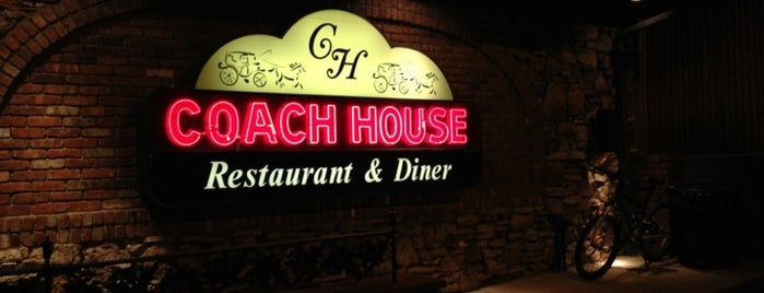 Coach House Diner & Restaurant is one of Food.