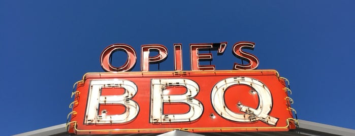 Opie's BBQ is one of Texas Trip.
