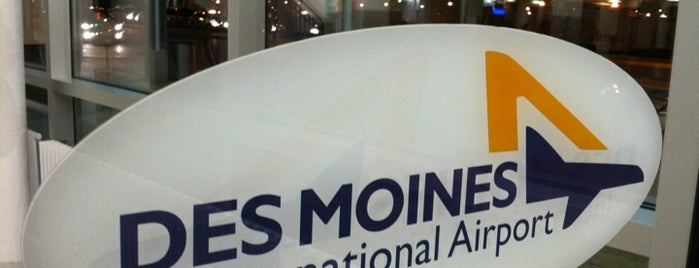 Des Moines International Airport (DSM) is one of Free WiFi Airports 2.