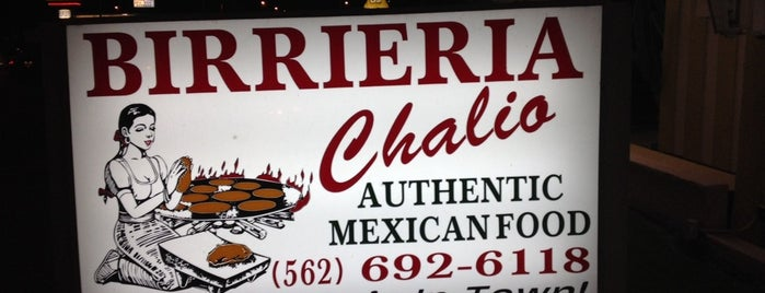 Birrieria Chalio is one of LA Food to try.