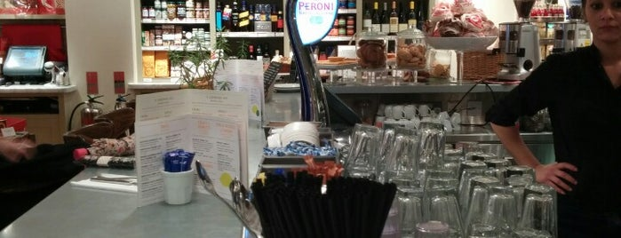 Carluccio's is one of Richmond Good Food Guide.