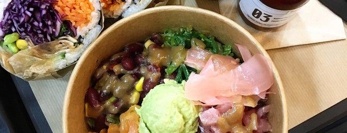 Fuumi Sushi-Burrito is one of Paris.