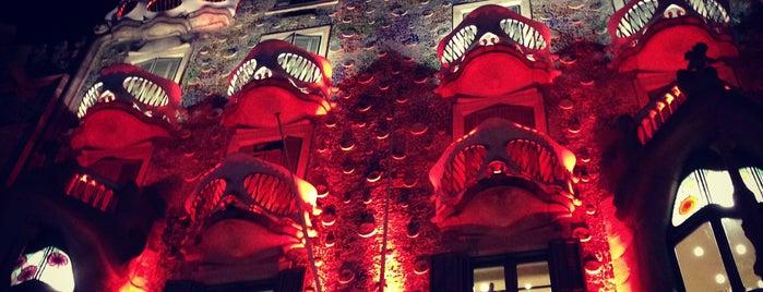 Casa Batlló is one of Barcelona : Museums & Art Galleries.