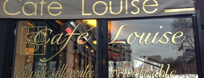 Café Louise is one of Quartier Latin.