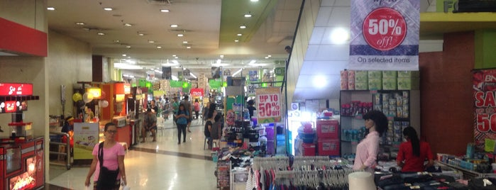 Puregold is one of fave spot.