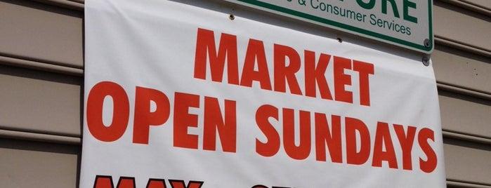 Charlotte Regional Farmer's Market is one of Footprints in charlotte.