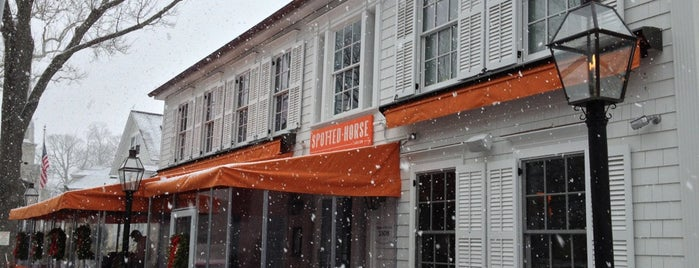 The Spotted Horse Tavern is one of CT Food to Try (casual).