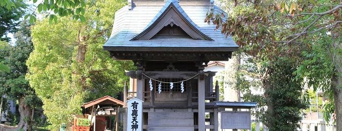 有鹿天神社 is one of 海老名・綾瀬・座間・厚木.
