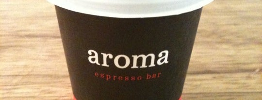 Aroma Espresso Bar is one of Top picks for Coffee Shops.
