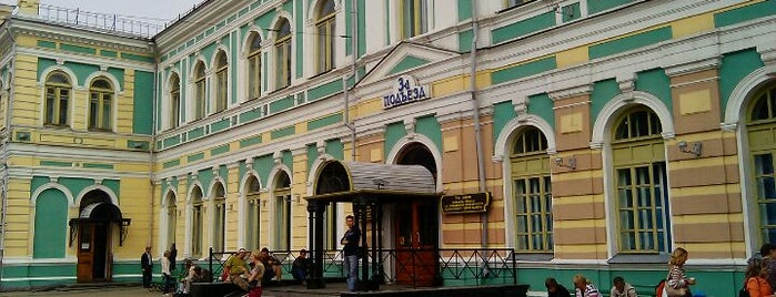Irkutsk Railway Station is one of Транссибирская магистраль.
