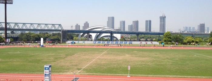Yumenoshima Stadium is one of football.