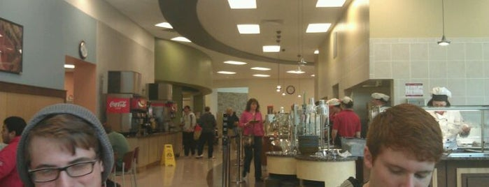 Watterson Dining Commons is one of College Life.