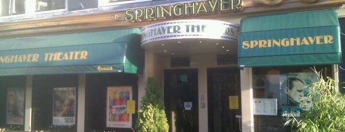 Springhaver Theater is one of My Faves.