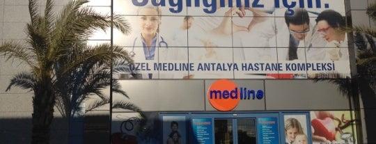 Medline Antalya Hastanesi is one of Gizem.