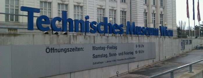 Technisches Museum Wien is one of StorefrontSticker #4sqCities: Vienna.