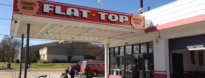 Flat Top Burger Shop is one of Dog Friendly Restaurants.