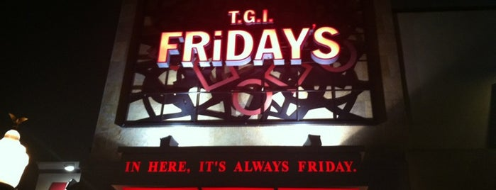 TGI Fridays is one of LUGARES VISITADOS.