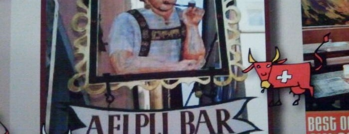 Aelpli Bar is one of Approved Places in and around Zurich.