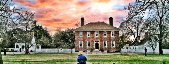 Colonial Williamsburg is one of Gary's List.