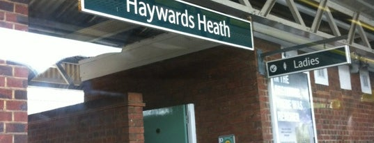 Haywards Heath Railway Station (HHE) is one of Railway Stations in UK.