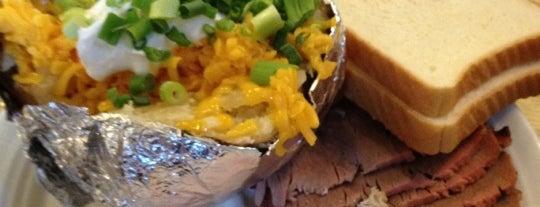 Brisket Bar-B-Q is one of Houston Good Foods.
