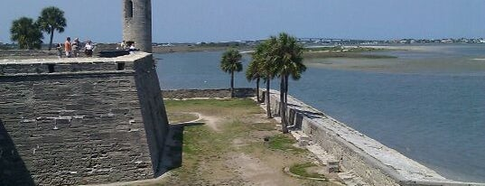Castillo De San Marcos National Monument is one of Paranormal Traveler.