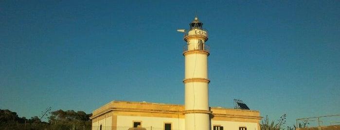 Faro de Cabo de las Salinas is one of Mallorca Birdwatching/Ornithology.