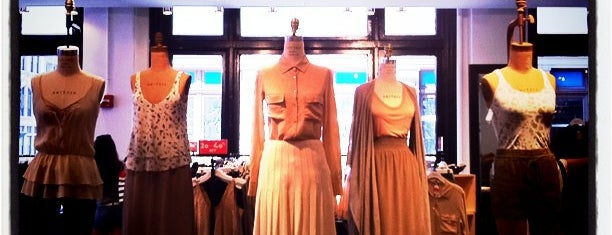 "Aritzia is one of Our ""Young Guns"" Favorite Shops in NYC."