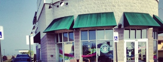 Starbucks is one of 20 favorite restaurants.