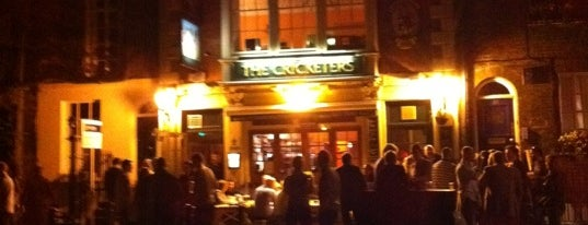 The Cricketers is one of Richmond Good Food Guide.